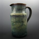 Tall Pitcher in Amber Breeze