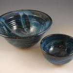 Assorted bowls in Starry Night