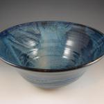 Large Serving bowl in Starry Night