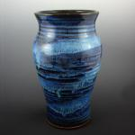 Tall Vase in Starry Night
